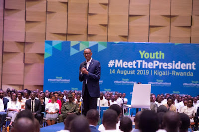 THE YCEO: President Kagame Meets Young Rwandans To Plan For Next 25 Years.