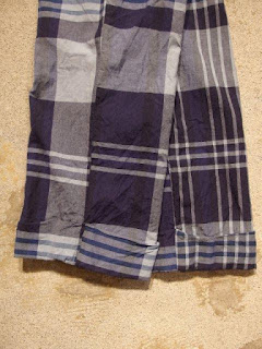 Engineered Garments Charles Pant-Big Plaid