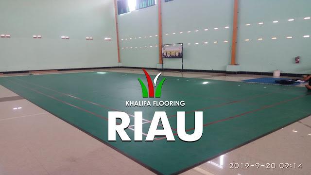 Jual Karpet Lapangan Badminton Riau