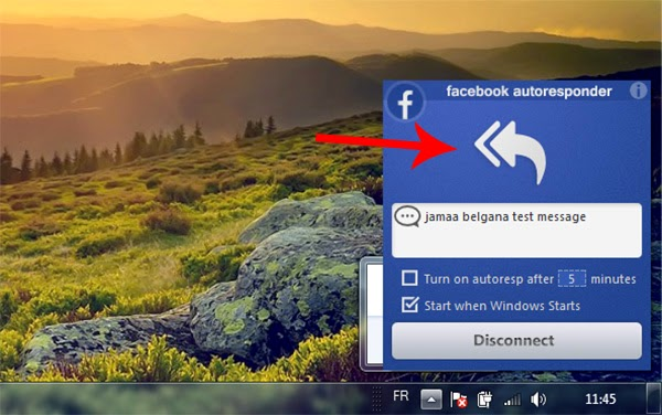برنامج FacebookAutoresponder للرد التلقائي على الفيس بوك