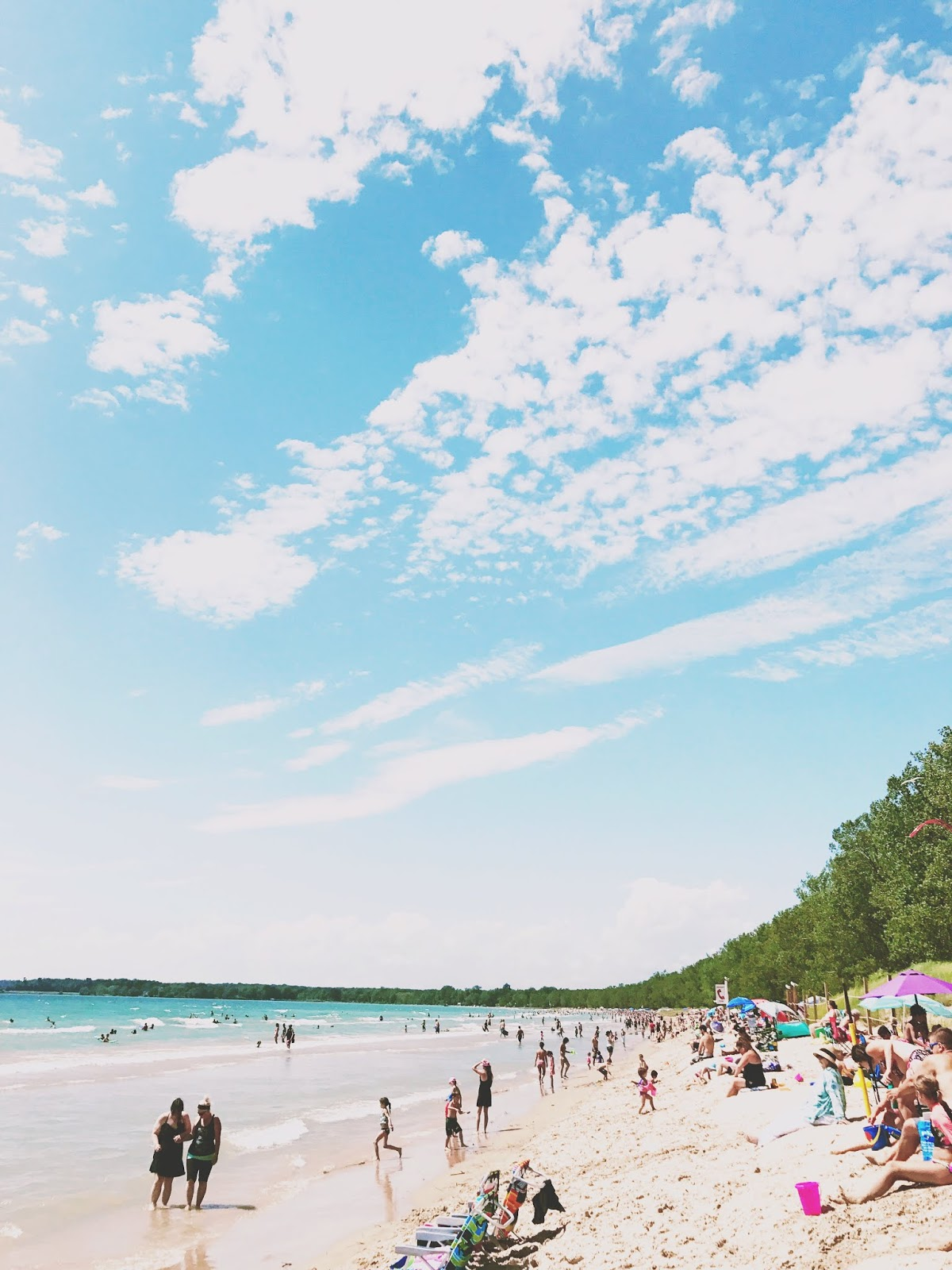 sandbanks beach, prince edward county family resort, pec cottage, prince edward county with kids