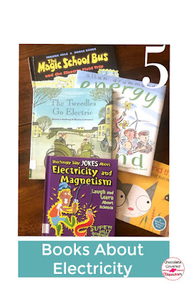 5 picture books about electricity - perfect for your upper elementary science unit a free blog post