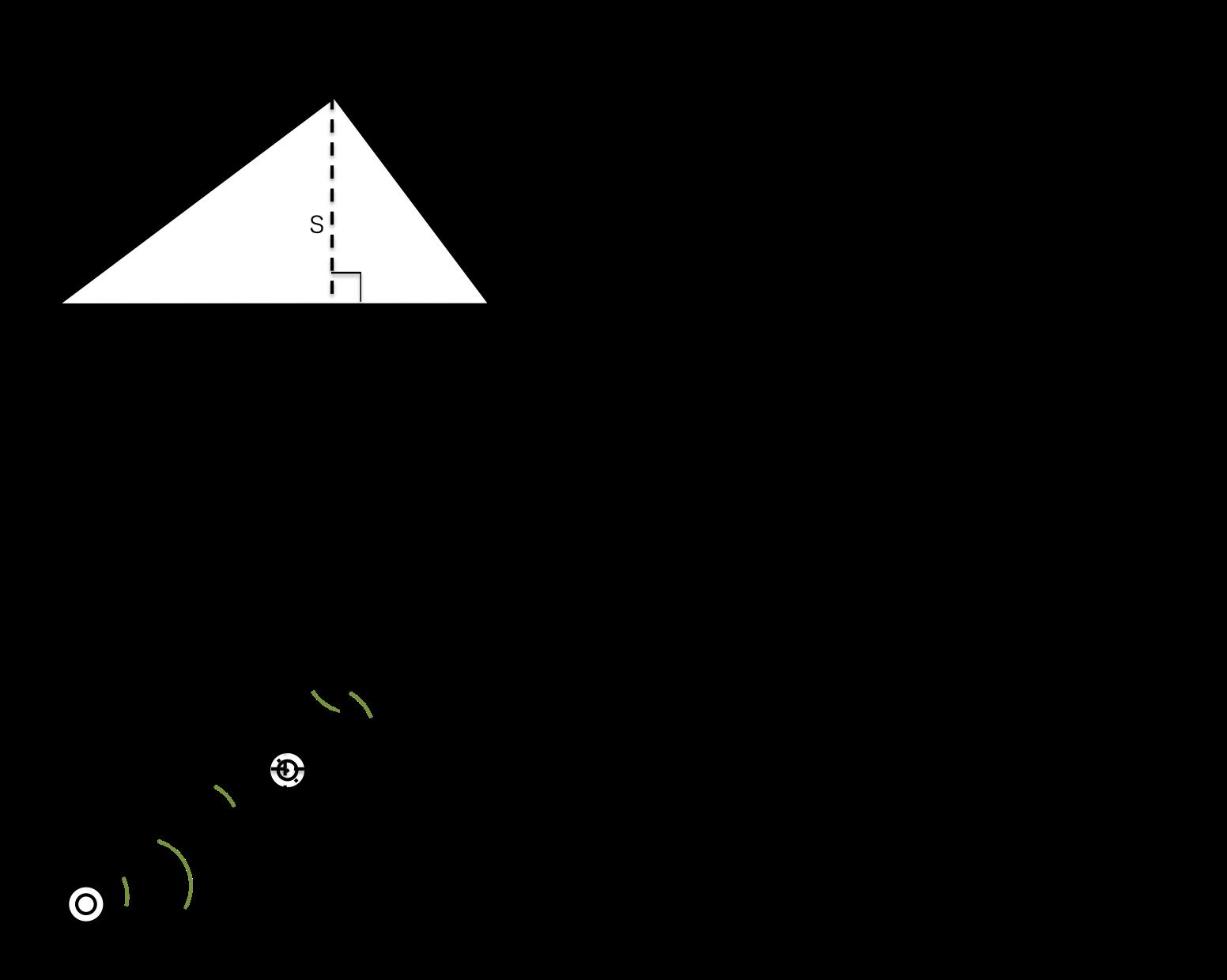 楽しいことをしたい: 【Processing】平面二軸ロボットの逆運動学