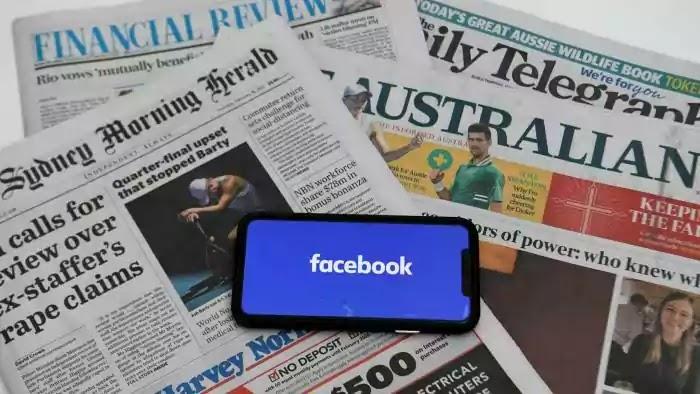 australia, emergency services page, facebook, google, news sharing, social media company,
