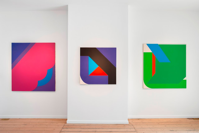 """Georg Karl Pfahler – Color and Space"" Exhibition at the QG GALLERY"