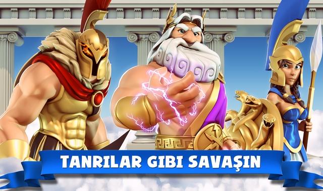 olimpos tanrıları hile