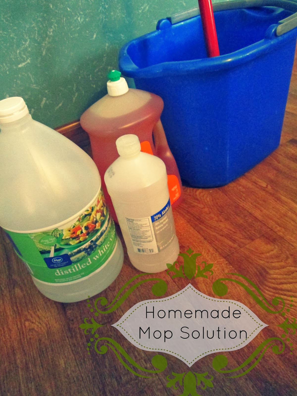 The Rehomesteaders Homemade Mop Solution