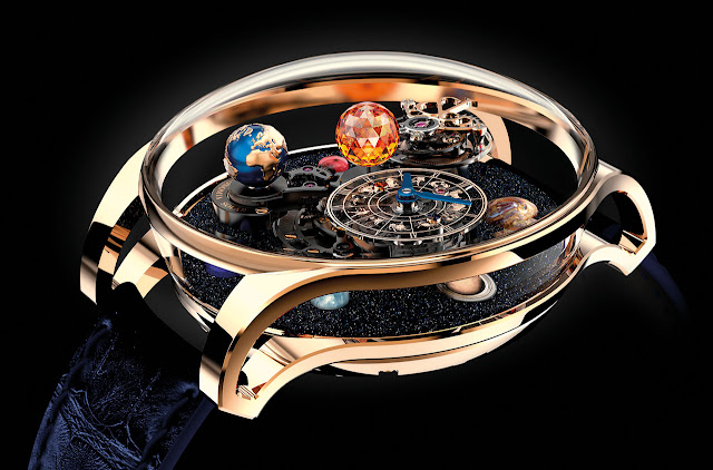 Jacob & Co. Astronomia Solar Mechanical Hand-wound Watch