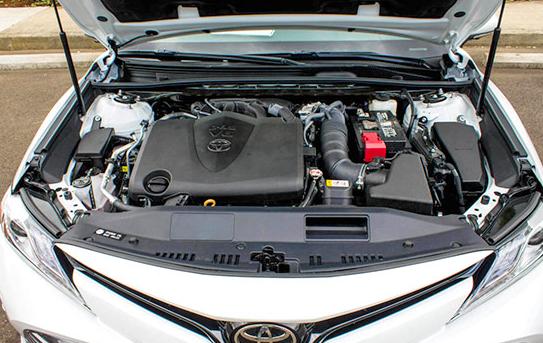 2020 Toyota Camry engine
