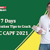 Last 7 Days Strategy for UPSC CAPF 2021: Tips to Crack the Exam