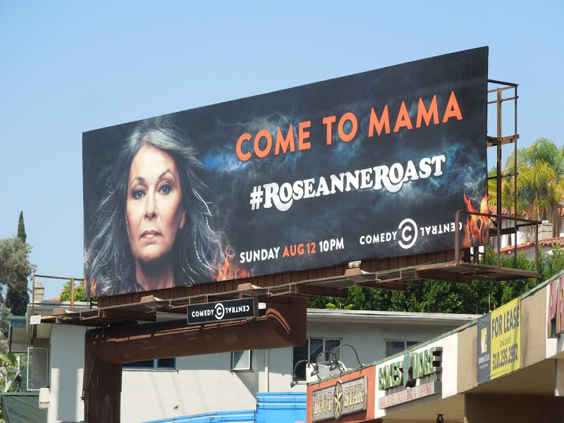 Roseanne Roast Comedy Central billboard