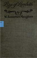 Liza of Lambeth, Doran 1921 - W. Somerset Maugham