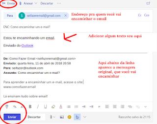 Como fazer um email no Outlook MSN Live de graça