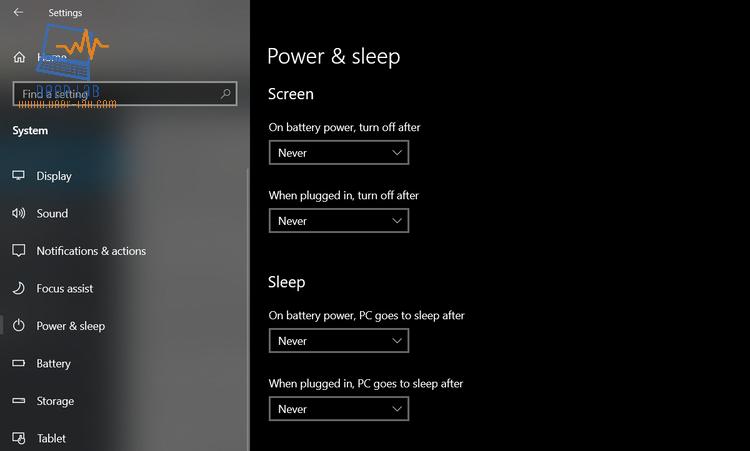 التخطي إلى المحتوى الرئيسيمساعدة بشأن إمكانية الوصول تعليقات إمكانية الوصول الألعاب الأولمبية الصيفية 2021 كيفية منع Windows 10 من إيقاف تشغيل شاشتك  الكل فيديوالأخبارصورخرائط Googleالمزيد الأدوات حوالى 530,000 نتيجة (0.51 ثانية)  لجعل الكمبيوتر في وضع الإسبات: افتح خيارات الطاقة: بالنسبة ل Windows 10 ، حدد بدء ، ثم حدد إعدادات > نظام > طاقة & السكون > إعدادات اضافيه للطاقة. ... حدد اختيار ما يفعله زر الطاقة، ثم حدد تغيير الإعدادات التي لا تتوفر حاليًا. ضمن إعدادات إيقاف التشغيل، حدد خانة الاختيار وضع الإسبات (إذا كانت متوفرة)، ثم حدد حفظ التغييرات.  إيقاف تشغيل الكمبيوتر أو جعله في وضع السكون أو الإسباتhttps://support.microsoft.com › ar-sa › windows › إيقاف-... لمحة عن المقتطفات المميَّزة • ملاحظات  كيفية منع Windows 10 من إيقاف تشغيل شاشتك - for3rabhttps://www.for3rab.com › دروس ٠٩/٠٣/٢٠٢١ — هل تجد نفسك تقوم بتشغيل الشاشة على جهاز الكمبيوتر الذي يعمل بنظام Windows 10 كثيرًا؟ من الممكن إيقاف تشغيل الشاشة تمامًا.  كيفية منع Windows 10 من إيقاف تشغيل شاشتكhttps://www.hebergementwebs.com › علوم-الكومبيوتر ٠٦/٠٣/٢٠٢١ — كيفية منع Windows 10 من إيقاف تشغيل شاشتك ... إذا كان لديك جهاز محمول مثل كمبيوتر محمول أو كمبيوتر لوحي ، عليك أن تقرر كيف تتصرف الشاشة ...  كيفية منع Windows 10 من إيقاف تشغيل الشاشة - المجله دوت كومhttps://almagla.com › دليل التقنية ٠٥/٠٣/٢٠٢١ — هل تقوم كثيراً بتشغيل الشاشة على جهاز الكمبيوتر الذي يعمل بنظام Windows 10 كثيرًا؟ من الممكن إلغاء خاصية إيقاف تشغيل الشاشة تمامًا. الفيديوهات  3:01 تعطيل وضع السكون (Windows 10) YouTube · Joe World 11/08/2015  1:07 كيفية ايقاف تدوير الشاشة التلقائي في ويندوز 10 YouTube · لابتوب اون لاين للحاسبات وبرامج الحاسوب 12/09/2020  معاينة 1:37 كيفية ايقاف التحديثات التلقائية في ويندوز 10 النسخة النهائية YouTube · التميز للشروحات - altamiuz 08/08/2015 عرض الكل  كيفية إيقاف قفل الشاشة في نظام ويندوز 10 | البوابة العربية ...https://aitnews.com › الأخبار التقنية › منوعات تقنية ١١/٠٩/٢٠١٨ — ويندوز 10 | إن لم تقوم بتهيئة الحاسوب الخاص بك والعامل بنظام التشغيل ويندوز 10 لتسجيل الدخول تلقائيًا، سترى شاشتين عند بدء التشغيل أو تس