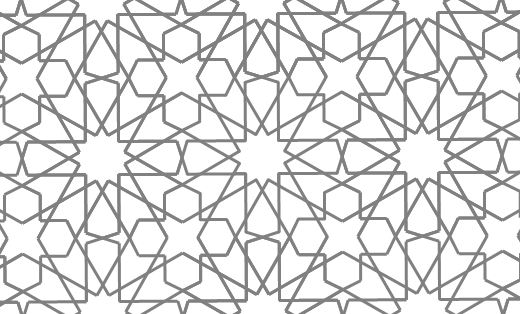 mathrecreation islamic geometric patterns of Eric Broug