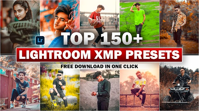 Download Top 150+ Lightroom Presets (XMP) In One Click By Deepak Creations