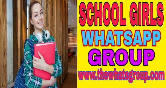 Latest 100+ School Girl Whatsapp Group Link Join