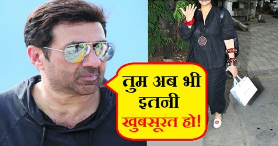 sunny deol-dimple - back to bollywood