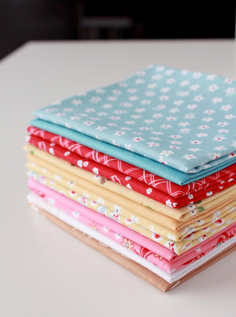 Fat Quarters from the Calico Days fabric line