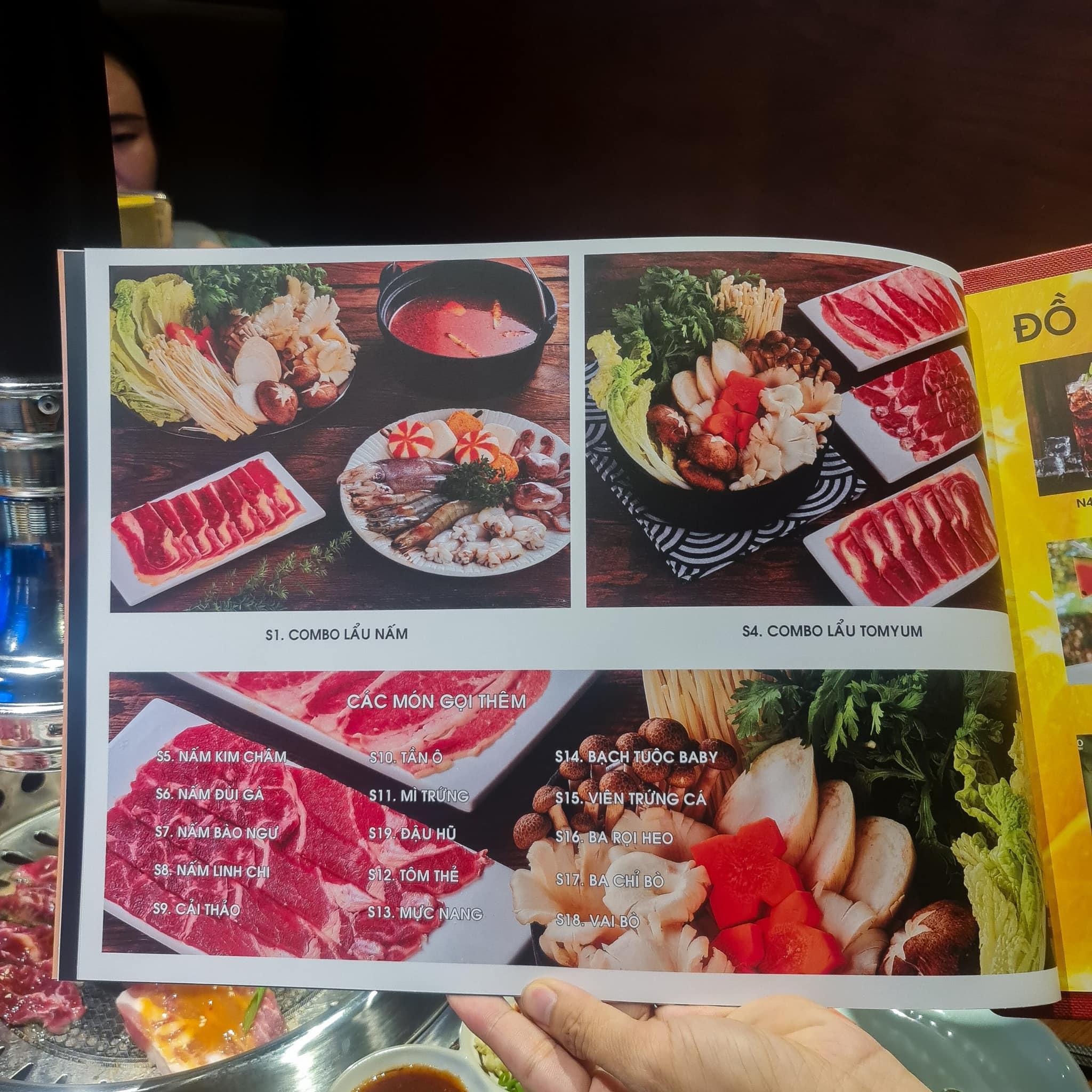 nhà hàng nướng nhật bản akagyu