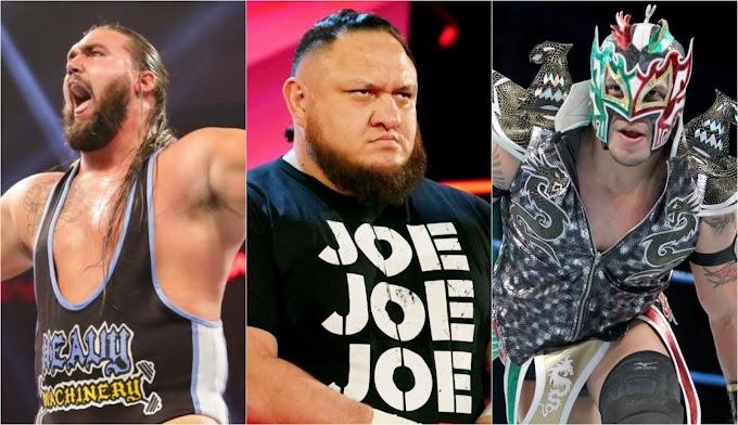 BREAKING: Samoa Joe, Kalisto, Tucker και άλλοι Superstars απολύθηκαν από το WWE