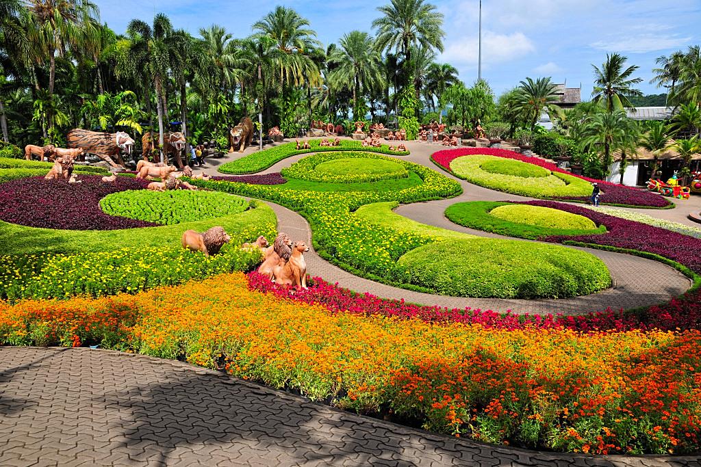 The Life Journey In Photography Nong Nooch Tropical Botanical Garden Pattaya Thailand