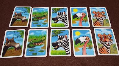 ジョーの動物園 動物カード