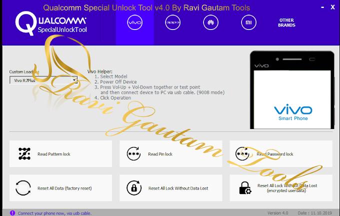 Qualcomm Special Unlock Tool v4.0 By Ravi Gautam Tools