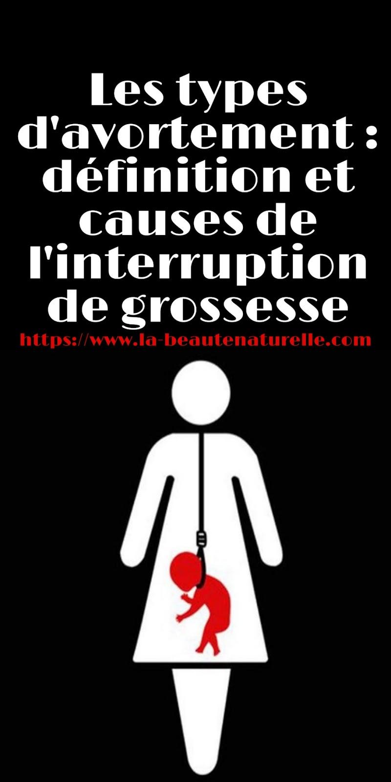 Les types d'avortement : définition et causes de l'interruption de grossesse