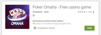 Game Poker Omaha Gratis Playstore Banyak Fitur Menarik