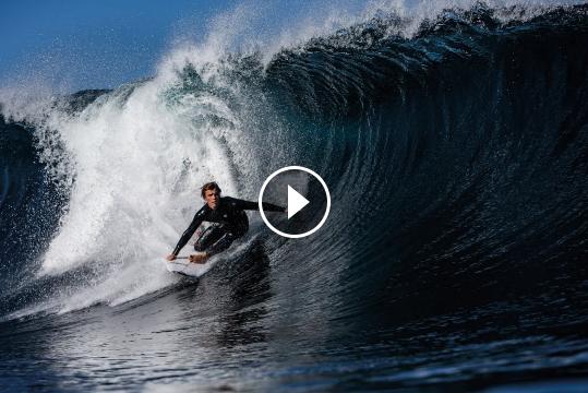 Jai Glindeman Chippa Wilson Benny Howard and Mitch Crews Surf Australia s Most Perfect Wave