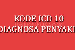 Kode ICD 10 Diagnosa Penyakit