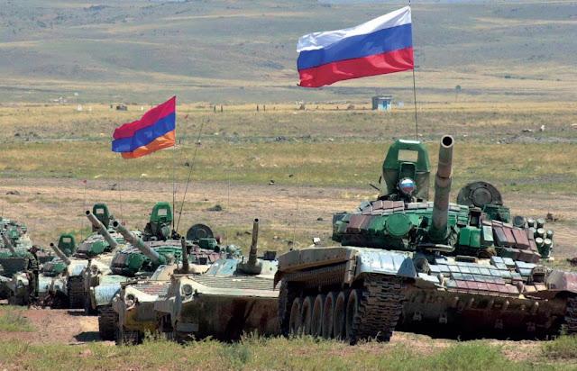 Μετακίνηση ρωσικών δυνάμεων στην Αρμενία