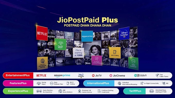 Jio Postpaid Plus New Plans Starting From ₹399 With Free Netflix, Amazon Prime, Disney Plus Hotstar