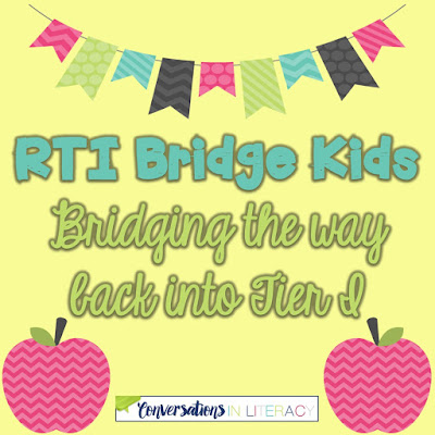 bridging the way back into Tier I in RTI