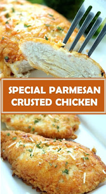 SPECIAL PARMESAN CRUSTED CHICKEN