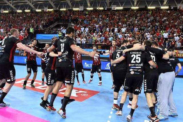 Trotz Niederlage im Handball-Krimi - Vardar Skopje fährt zum Final Four