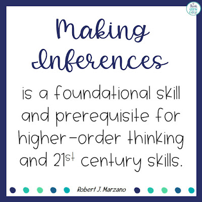 making inferences quotes for teachers marzano