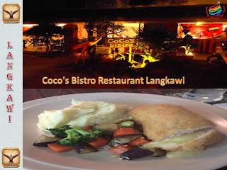 Coco's Bistro Restaurant, Langkawi
