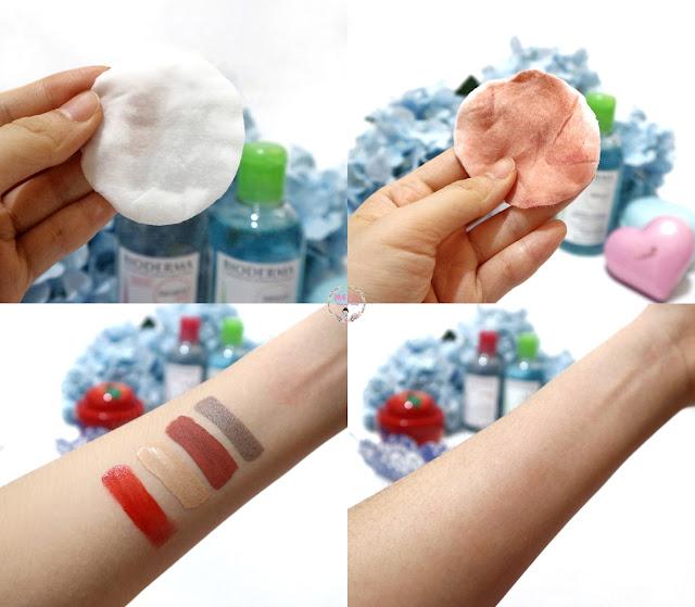 Bioderma Micellar Water untuk mengangkat sisa makeup