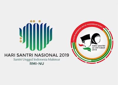 Resmi! Inilah Logo Hari Santri Nasional 2019, Download Vectornya di Sini