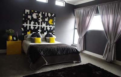 Decora y disena dormitorio matrimonial moderno ceniza - Dormitorio matrimonial moderno ...
