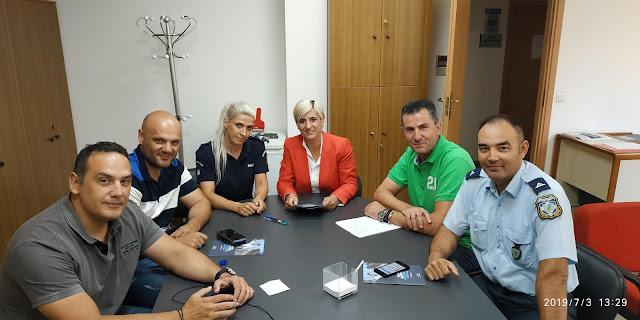 Επίσκεψη της Σόνιας Τάνταρου - Κρίγγου στην Ένωση Αστυνομικών Υπαλλήλων Αργολίδας