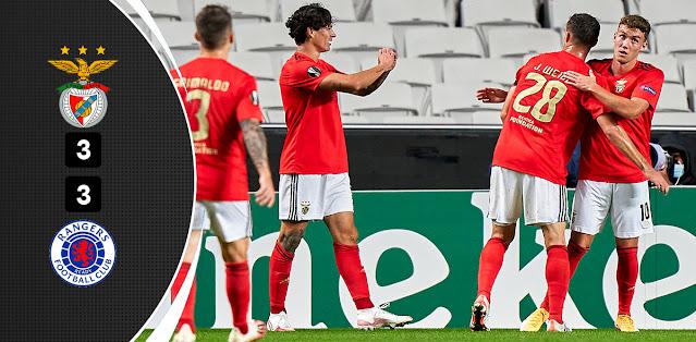 Benfica vs Rangers – Highlights