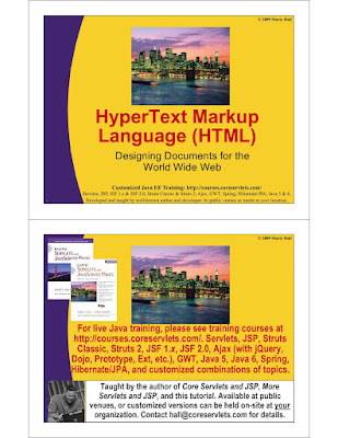 HTML Introduction in PDF Download eBook