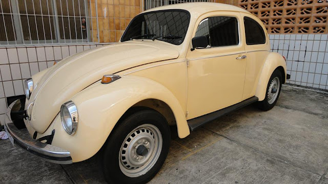 FUSCA BEGE 1980