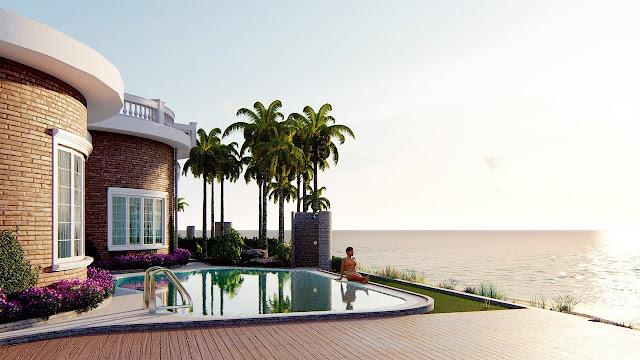 Không gian sống nghỉ dưỡng tại Hoa Tiên Paradise