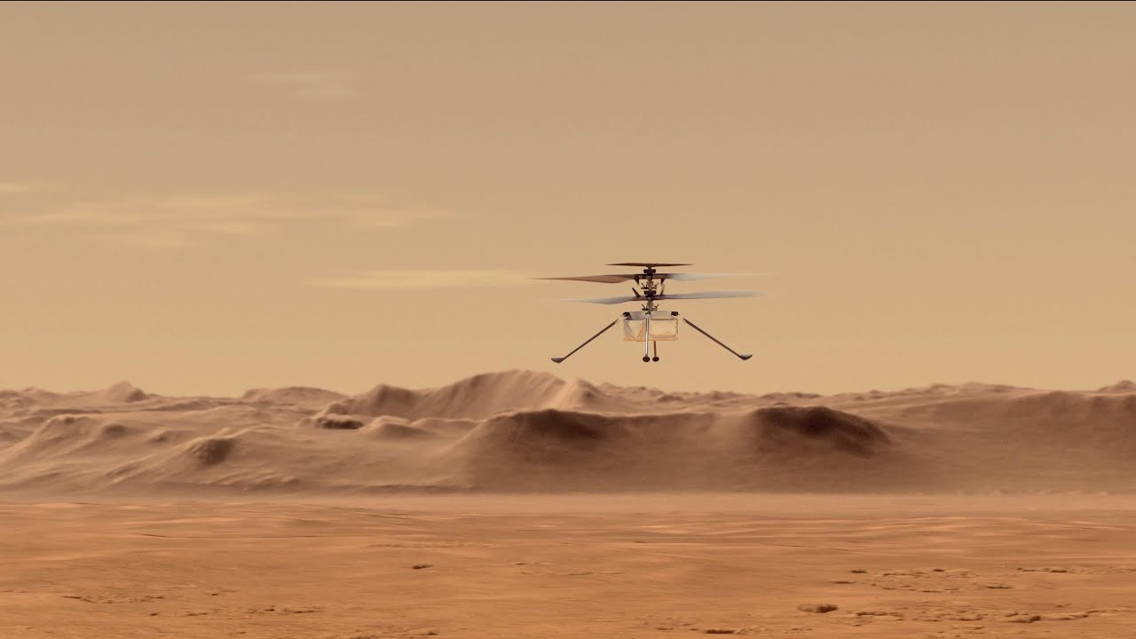 Ingenuity Completed Its Fifth Flight On Mars