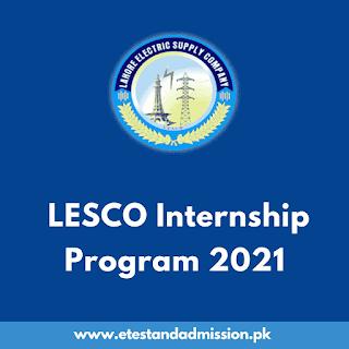 LESCO Internship Program 2021