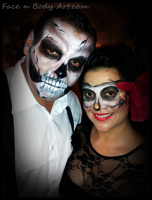 day of the dead makeup couple - photo #4